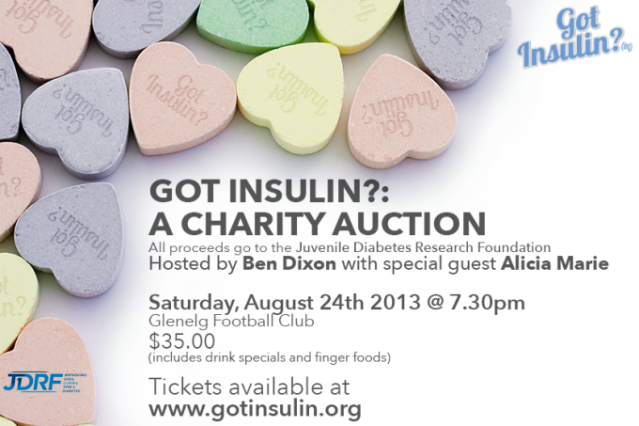 Got Insulin? Charity Auction